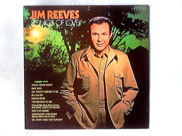 Songs Of Love LP By Jim Reeves