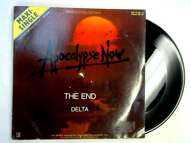 The End / The Delta 12in by The Doors