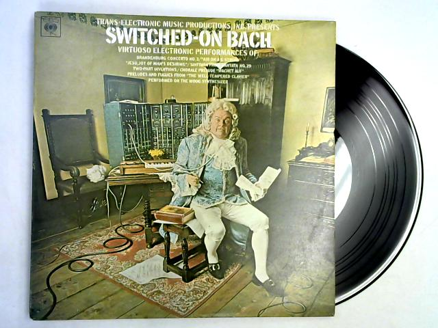 Switched-On Bach LP 1st by Walter Carlos