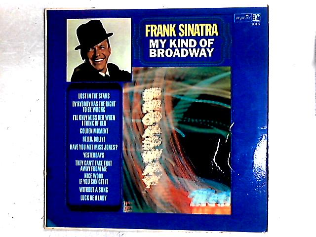 My Kind Of Broadway LP By Frank Sinatra