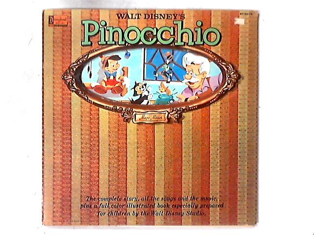 Walt Disney's Story Of Pinocchio LP By Walt Disney Studio
