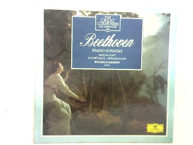 Piano Sonatas 12in LP By Ludwig Van Beethoven