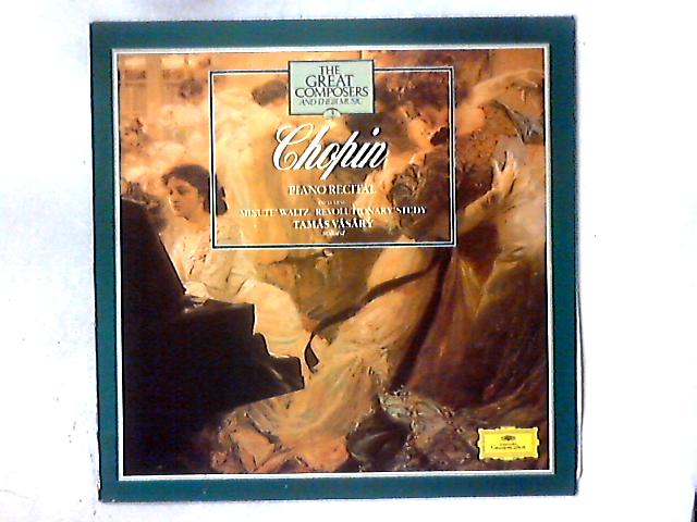 Chopin: Piano Recital LP By Frédéric Chopin