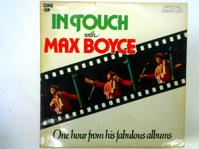 In Touch With Max Boyce 12in LP By Max Boyce