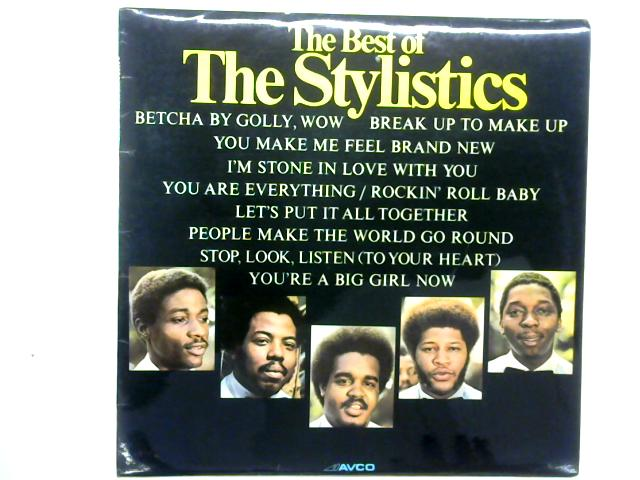 The Best Of The Stylistics 12in LP Comp By The Stylistics