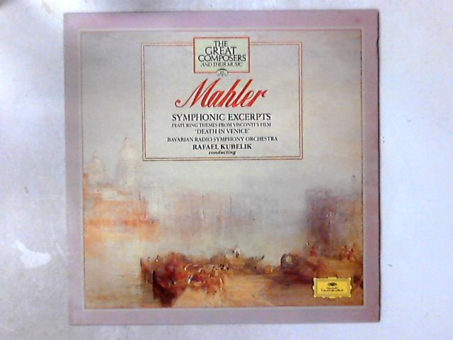 Symphonic Excerpts (Featuring Themes From Visconti's Film 'Death In Venice') LP By Gustav Mahler