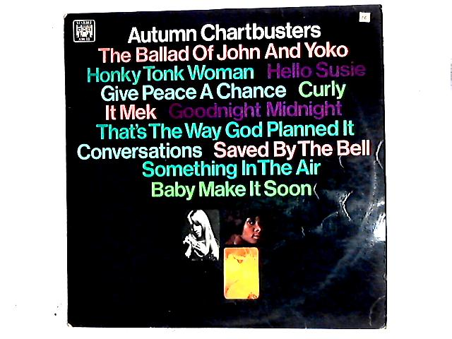 Autumn Chartbusters LP By Unknown Artist