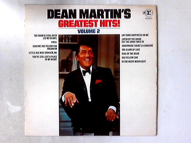 Dean Martin's Greatest Hits, Volume 2 LP COMP By Dean Martin