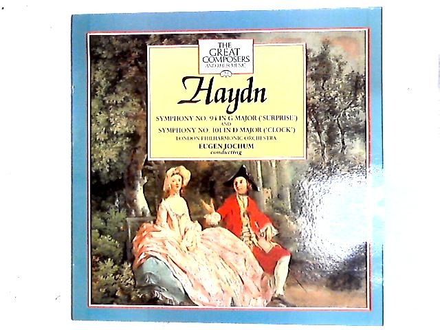 Symphony No.94 In G Major ('Surprise') And Symphony No. 101 In D Major ('Clock') LP By Joseph Haydn