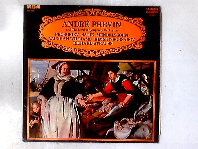 An André Previn Showcase LP By André Previn