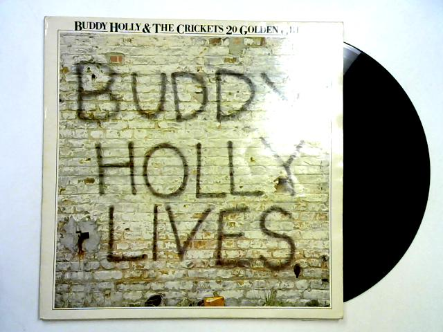 20 Golden Greats LP By Buddy Holly