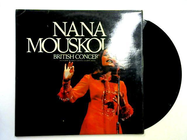 British Concert 2LP By Nana Mouskouri