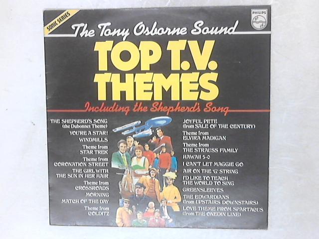 Top T.V. Themes LP By The Tony Osborne Sound
