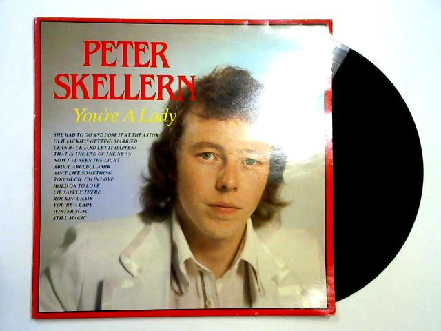 You're A Lady LP By Peter Skellern
