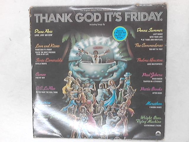 Thank God It's Friday 2xLP 1 Sided 12in Single By Various