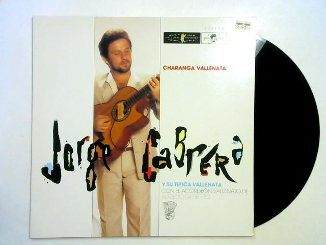 Charanga Vallenata LP 1st By Jorge Cabrera Y Su Tipica Vallenata