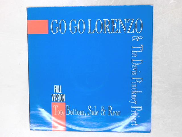 Top, Bottom, Side & Rear 12in Single By Go Go Lorenzo & The Davis Pinckney Project