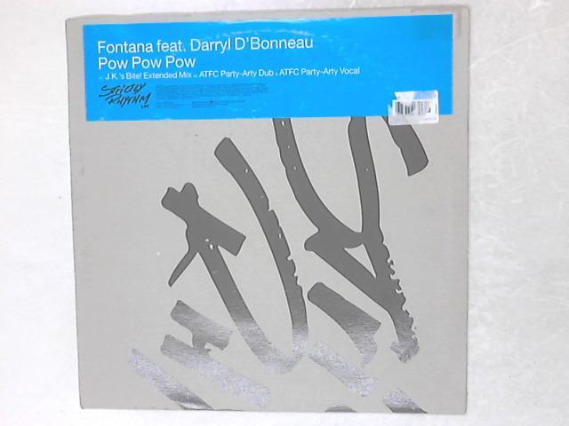 Pow Pow Pow 12in Single By Lenny Fontana