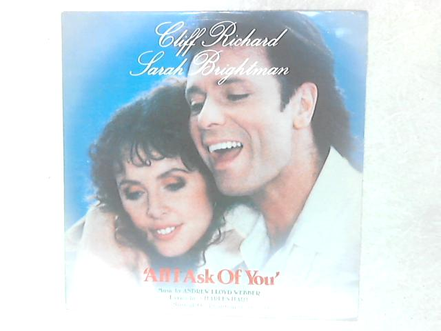 All I Ask Of You 12in Single By Cliff Richard & Sarah Brightman