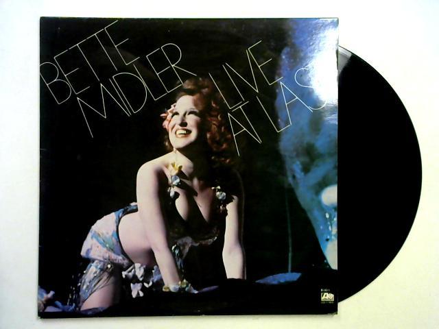 Live At Last 2LP 1st By Bette Midler