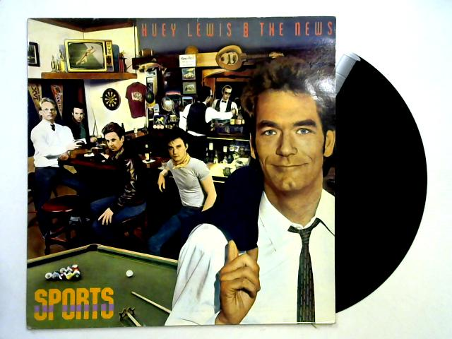 Sports LP 1st By Huey Lewis & The News