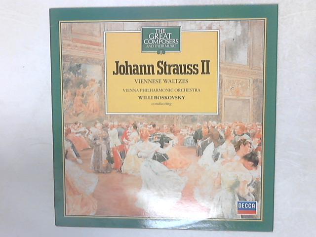 Viennese Waltzes LP By Johann Strauss Jr.