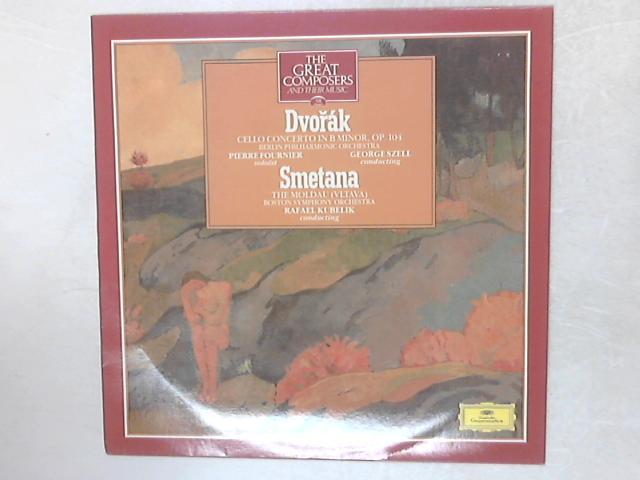 Cello Concerto In B Minor/ The Moldau (Vltava) LP By Dvo?ák & Smetana