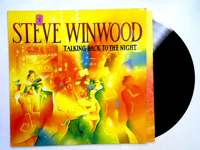 Talking Back To The Night LP 1st By Steve Winwood