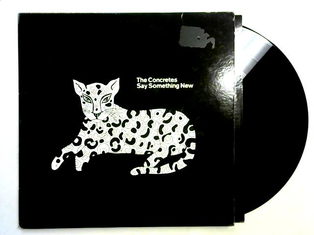 Say Something New EP 12in 1st By The Concretes