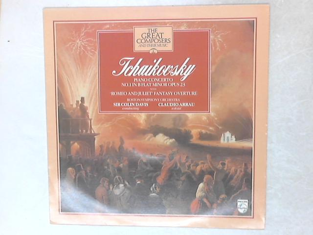 Piano Concerto No.1 In B Flat Minor Opus 23 With 'Romeo And Juliet' Fantasy Overture LP By Pyotr Ilyich Tchaikovsky