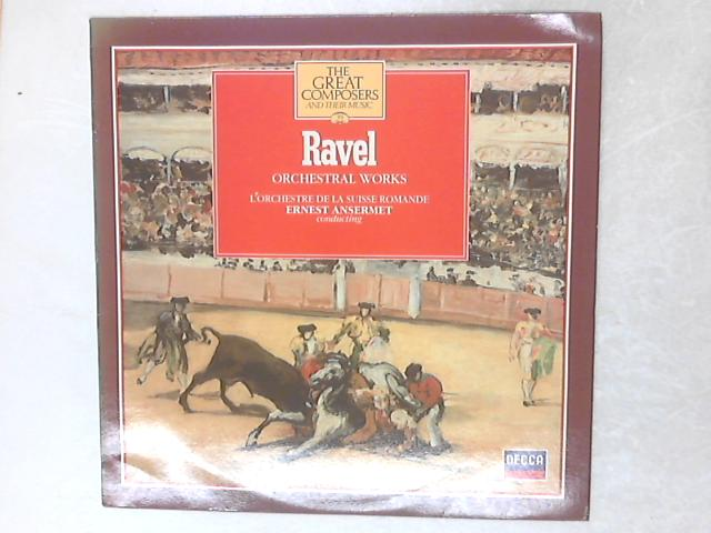 Orchestral Works LP By Maurice Ravel