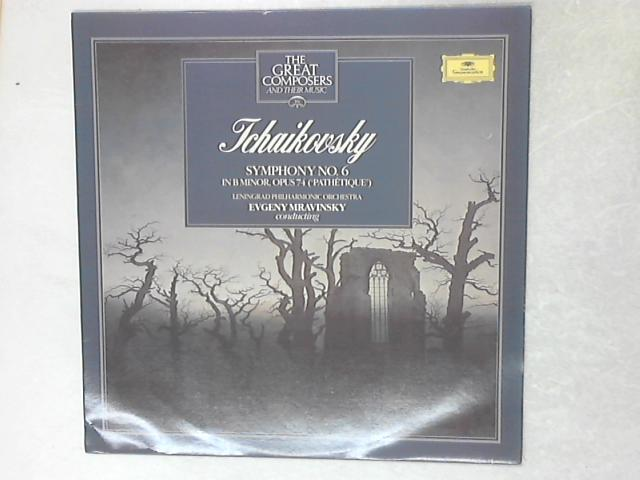 Symphony No. 6 In B Minor, Opus 74 ('Pathétique') LP By Pyotr Ilyich Tchaikovsky
