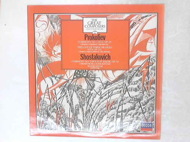 Symphony No. 1 In D, Op. 25 / The Love Of Three Oranges / Symphony No. 9 In E Flat Major, Op. 70 LP by Sergei Prokofiev