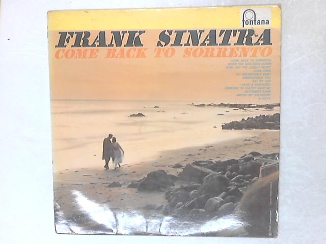 Come Back To Sorrento LP By Frank Sinatra