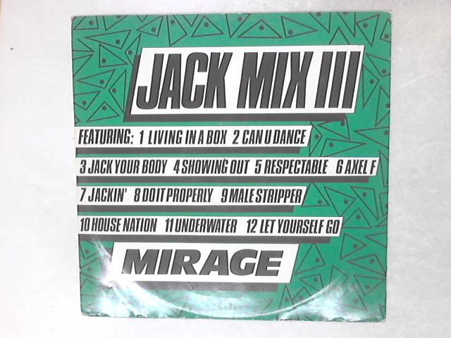 Jack Mix III 12in Single By Mirage