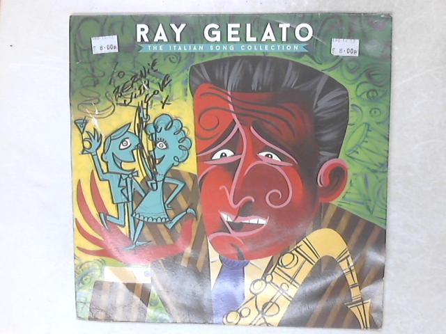 The Italian Song Collection Blue Vinyl LP by Ray Gelato
