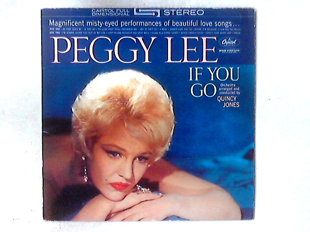 If You Go LP By Peggy Lee