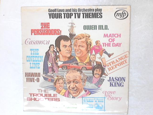 Your Top TV Themes LP by Geoff Love & His Orchestra