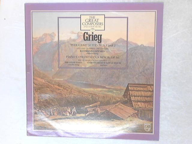 'Peer Gynt' Suites Nos. 1 & 2 / Piano Concerto In A Minor, Op. 16 LP by Edvard Grieg