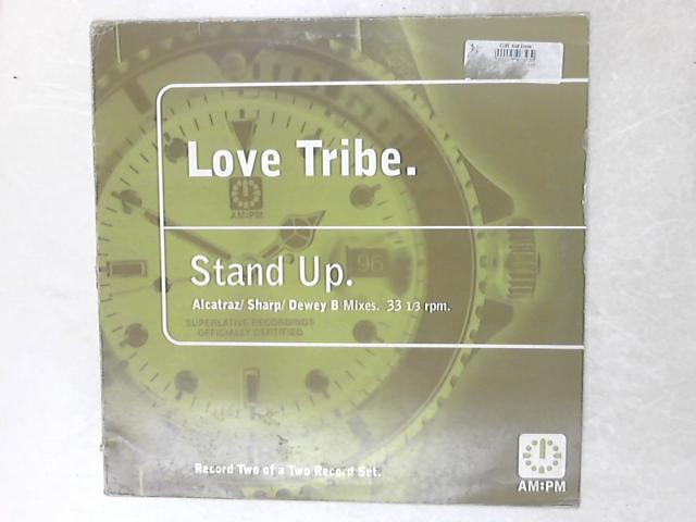 Stand Up (Alcatraz / Sharp / Dewey B Mixes) 12in by Love Tribe