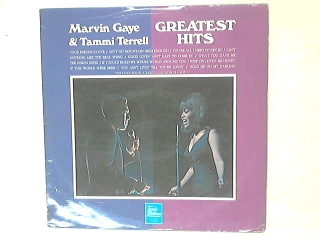 Greatest Hits LP by Marvin Gaye & Tammi Terrell