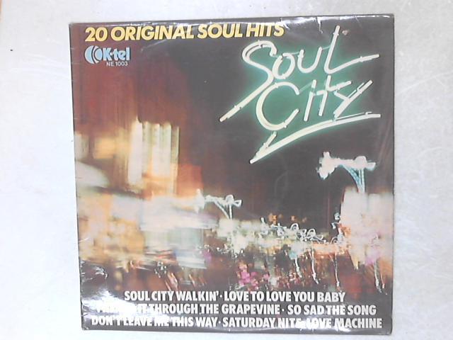 Soul City COMP LP By Various
