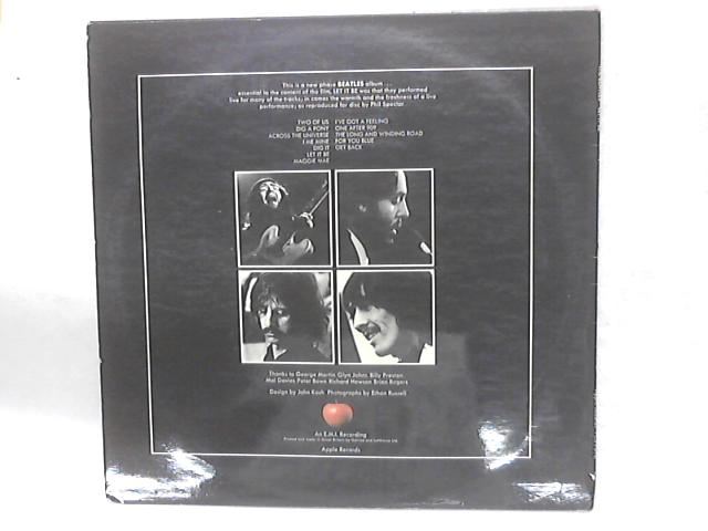 Let It Be (Red Apple Logo) LP By The Beatles