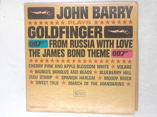 John Barry Plays Goldfinger LP By John Barry & His Orchestra