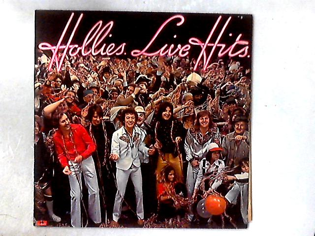 Hollies Live Hits LP COMP By The Hollies