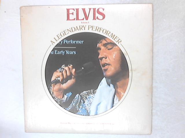 A Legendary Performer, Volume 1 LP By Elvis Presley
