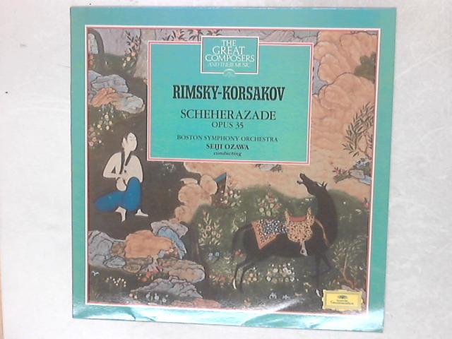 Scheherazade Opus 35 LP By Nikolai Rimsky-Korsakov