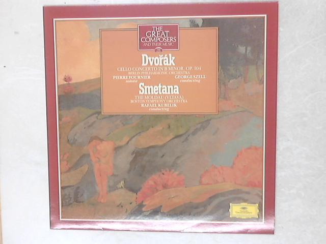 Cello Concerto In B Minor, Op. 104 / The Moldau (Vltava) LP By Antonín Dvo?ák