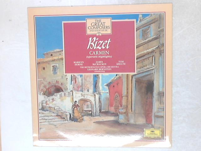 Carmen (Operatic Highlights) LP By Georges Bizet