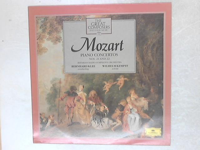 Piano Concertos Nos. 21 And 22 LP By Wolfgang Amadeus Mozart
